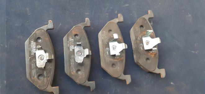 5C0698151A тормозные колодки VAG (передние)