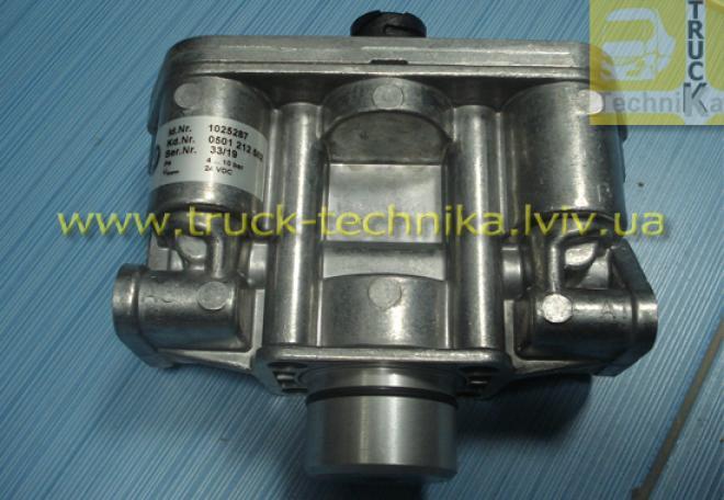Блок клапанов КПП ZF MAN   81325506003