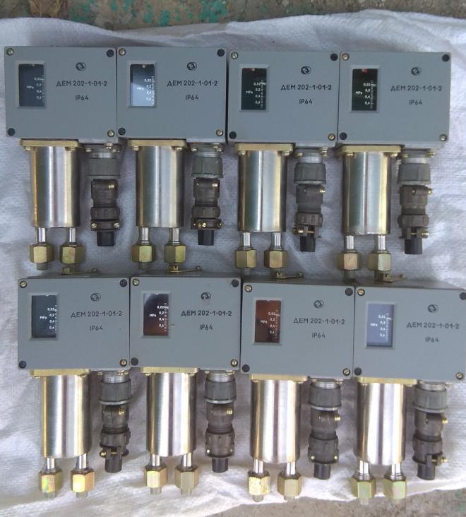 Датчик-реле разности давления ДЕМ-202-1-01-2.