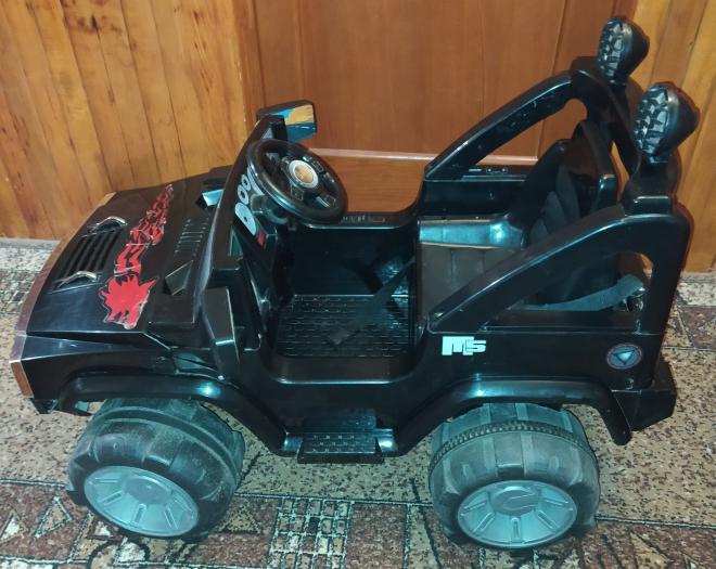 Детская машина Force Land на аккумуляторе, джип, игрушки