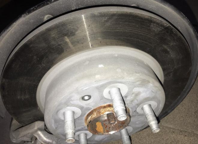 Диск тормозной зад Chevrolet Bolt EV 13514611