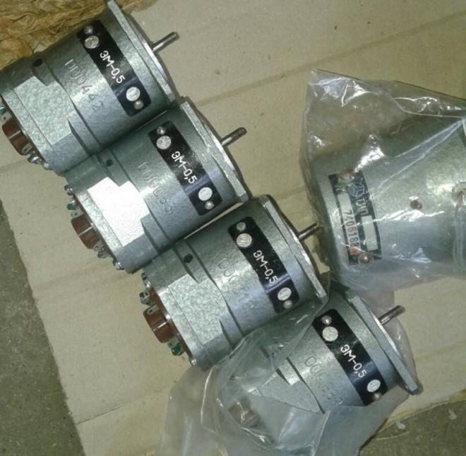Электродвигатель ЭМ-0,5