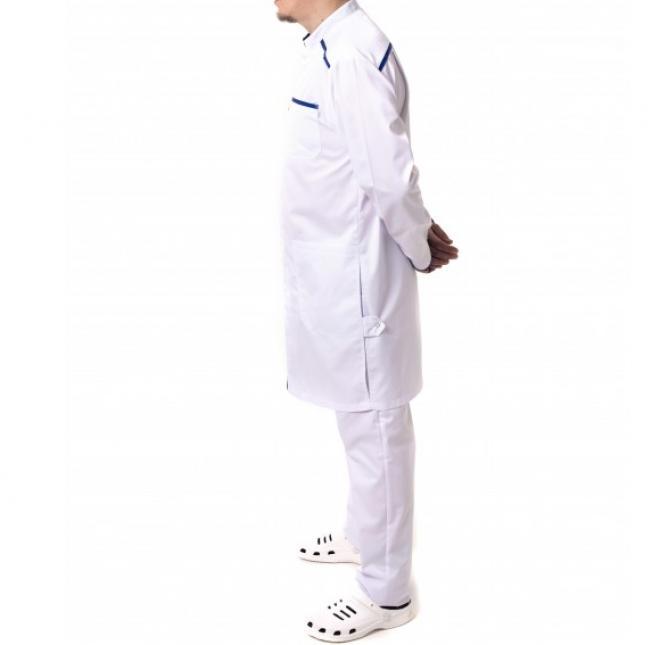 Халат медицинский рабочий модельный, мужской, женский