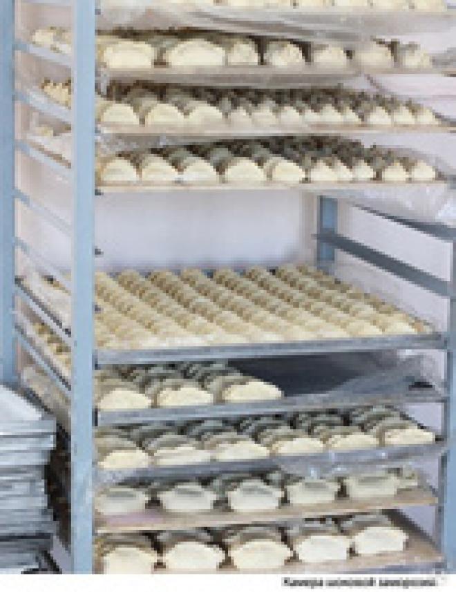 Камера холодильна для напів фабрикатів, холодильник для тістечок