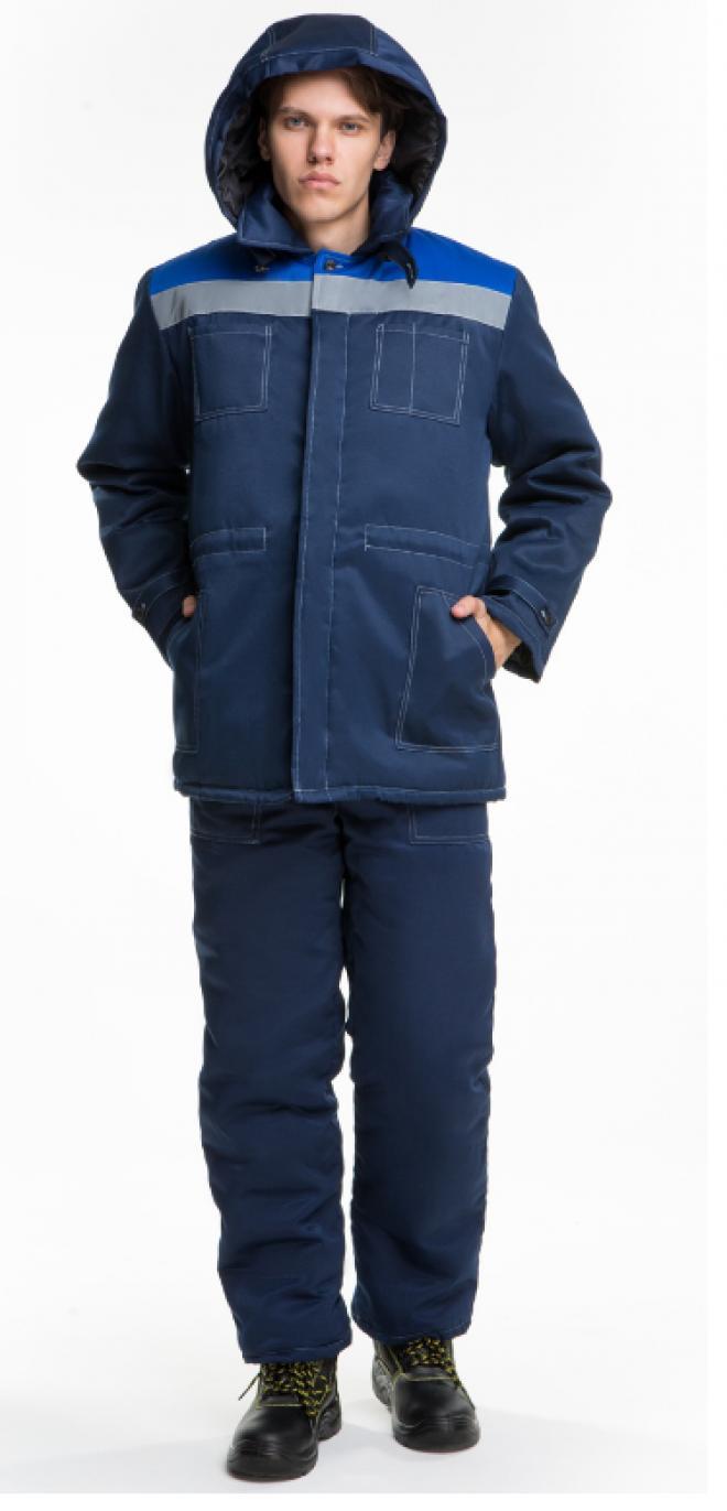 Костюм утепленный рабочий куртка и брюки