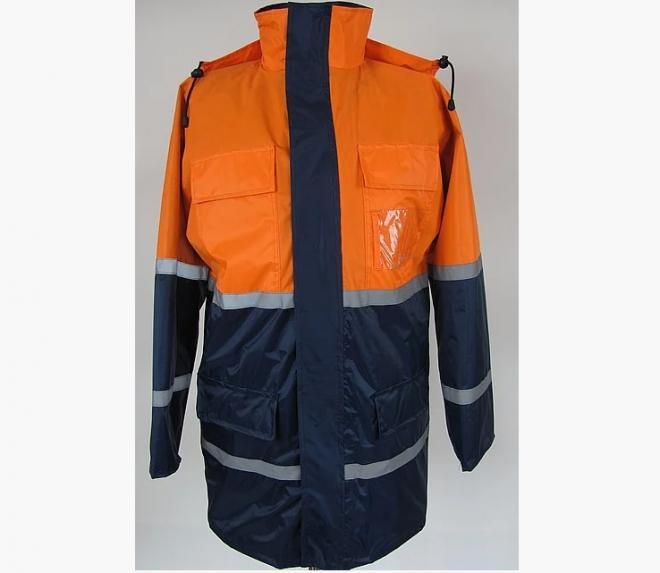 Куртка  вітровка з СВП, куртка дорожника, паркувальника