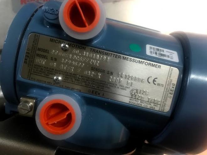 Массовый расходомер DN50 Micro Motion F200 в комплекте с преобразовате