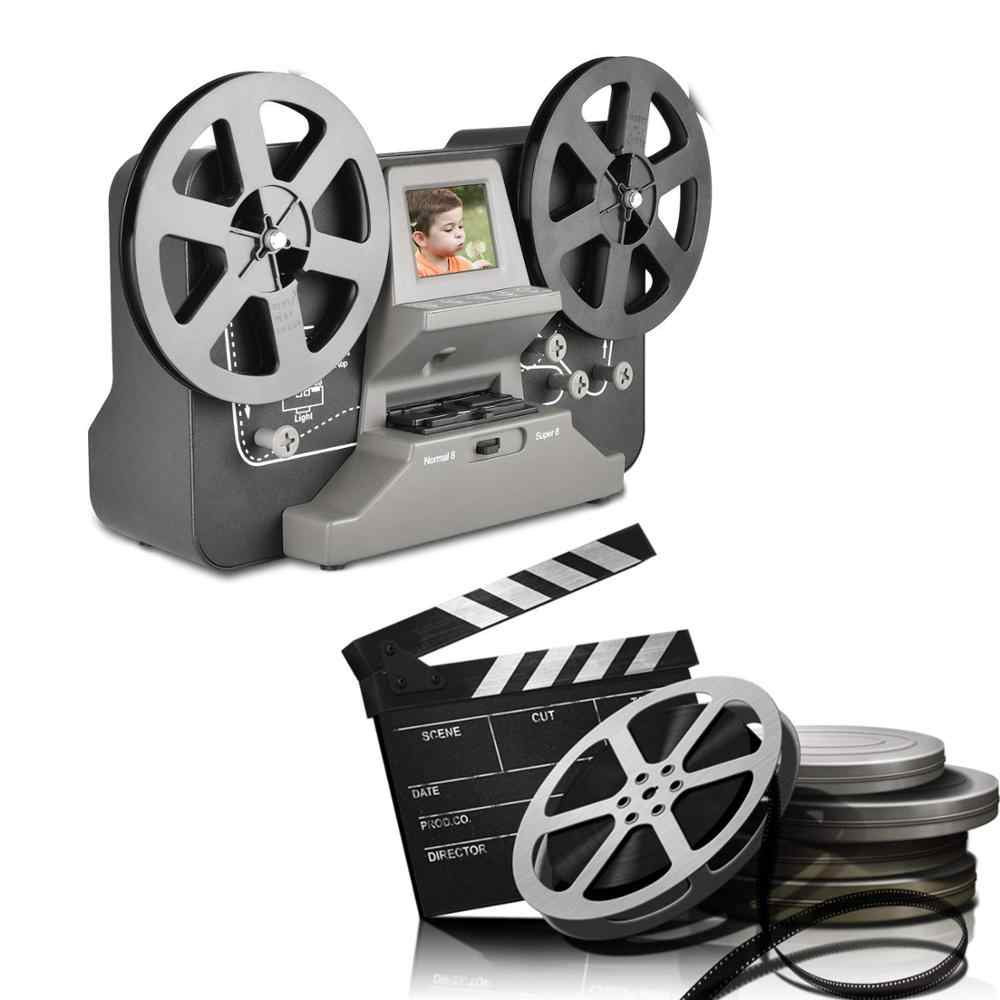 оцифровка кинопленки 8-16mm