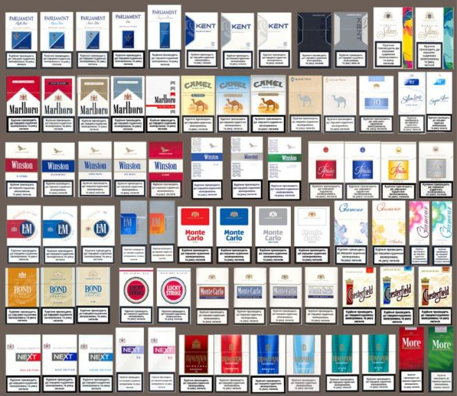 Оптовая продажа сигарет ( почти всех видов )