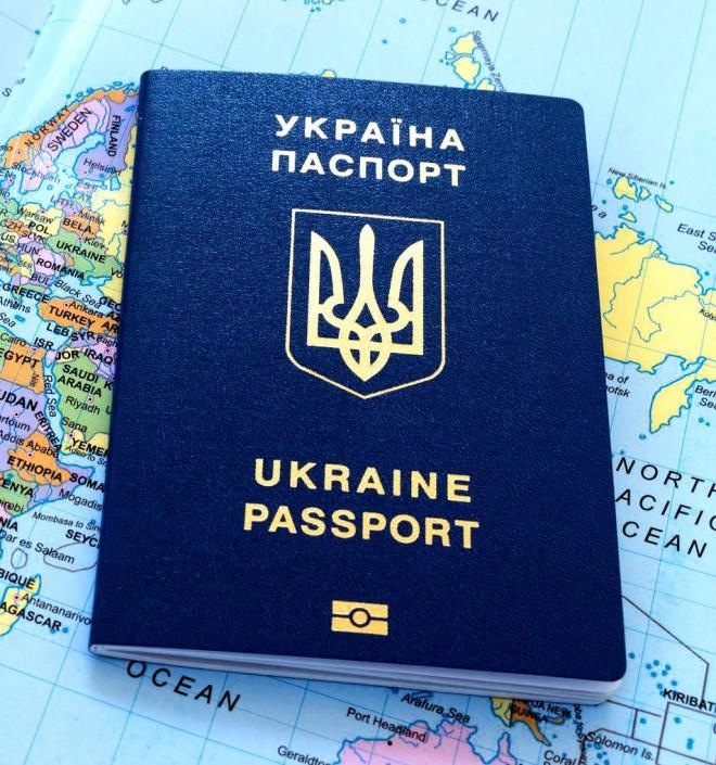 Паспорт  гражданина Украины,  загранпаспорт, ID карта