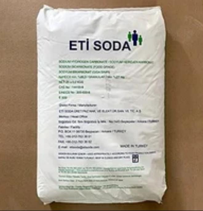 Пищевая сода (двууглекислый натрий, Е 500) Турция мешки 25 кг