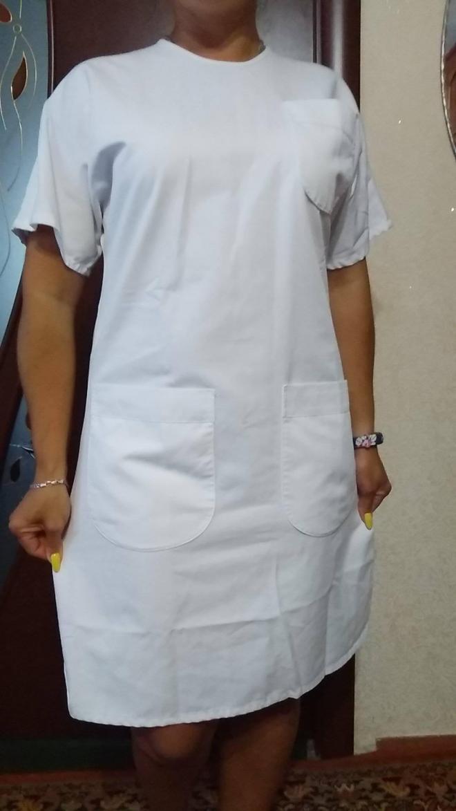Платье халат медицинский