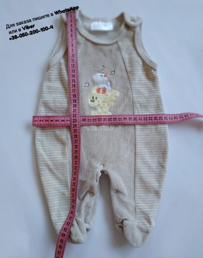 Плюшевый человечек боди бодик Okay с ножками для новорожденного малыша