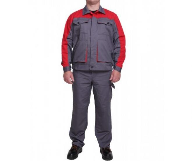 Полукомбинезон рабочий демисезонный с курткой
