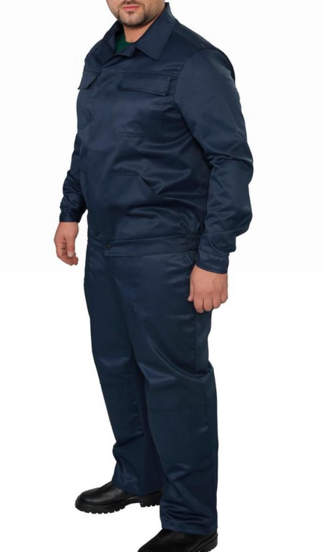Рабочий костюм модельный брюки с курткой ткань Грета