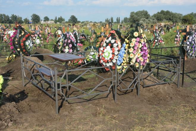 Разборные оградки на могилу - наложенным платежом.
