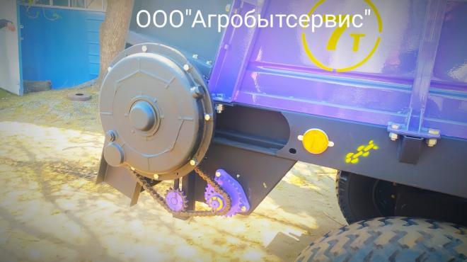 Разбрасыватель органических удобрений (куриного помета) РОУ-7А (РОУ-6)