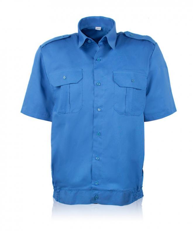Рубашка форменная голубая. Униформа для силовых структур.
