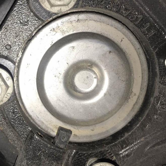 Ступица подшипник колеса зад Chevrolet Bolt EV 13524088