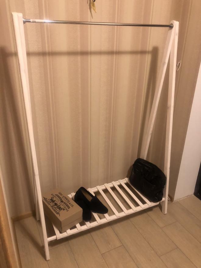 Вешалка для одежды Стойка напольная для одежды Открытый гардероб