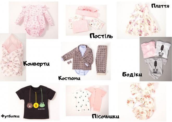 Виробник якісного дитячого одягу пропонує співпрацю оптовим покупцям