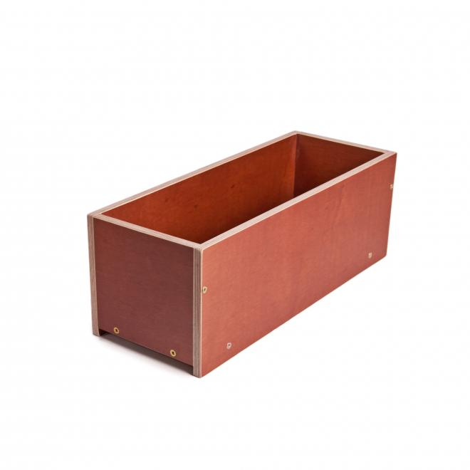Ящики (вазон кашпо) из ламинированной фанеры для цветов и рассады