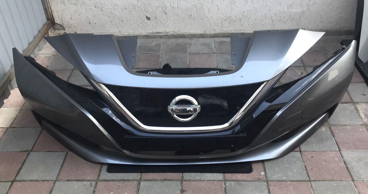 Бампер передний в зборе Nissan Leaf 2018-