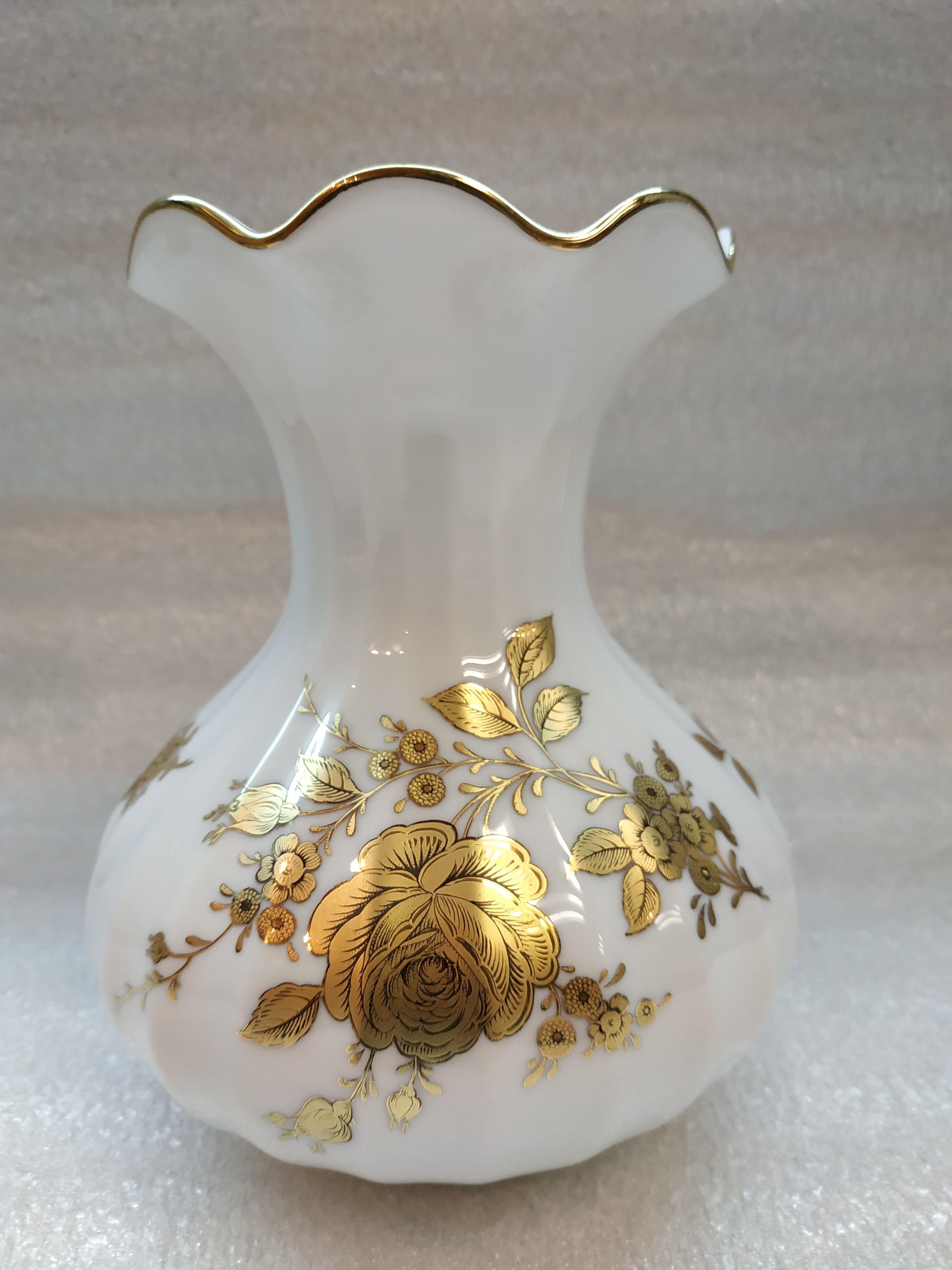 Фарфоровая белая ваза Retsch & Co Германия Фарфор Винтаж