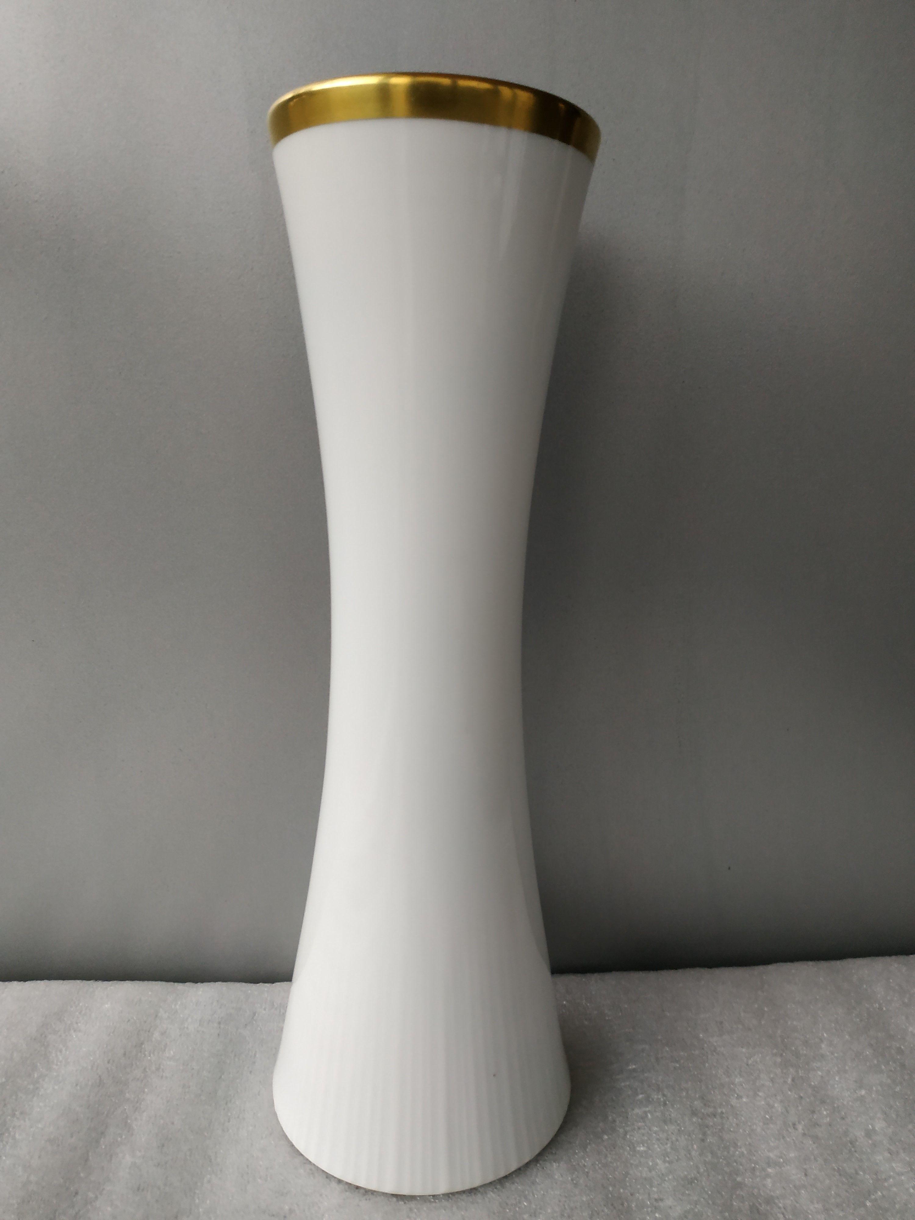 Фарфоровая белая ваза Tomas Германия