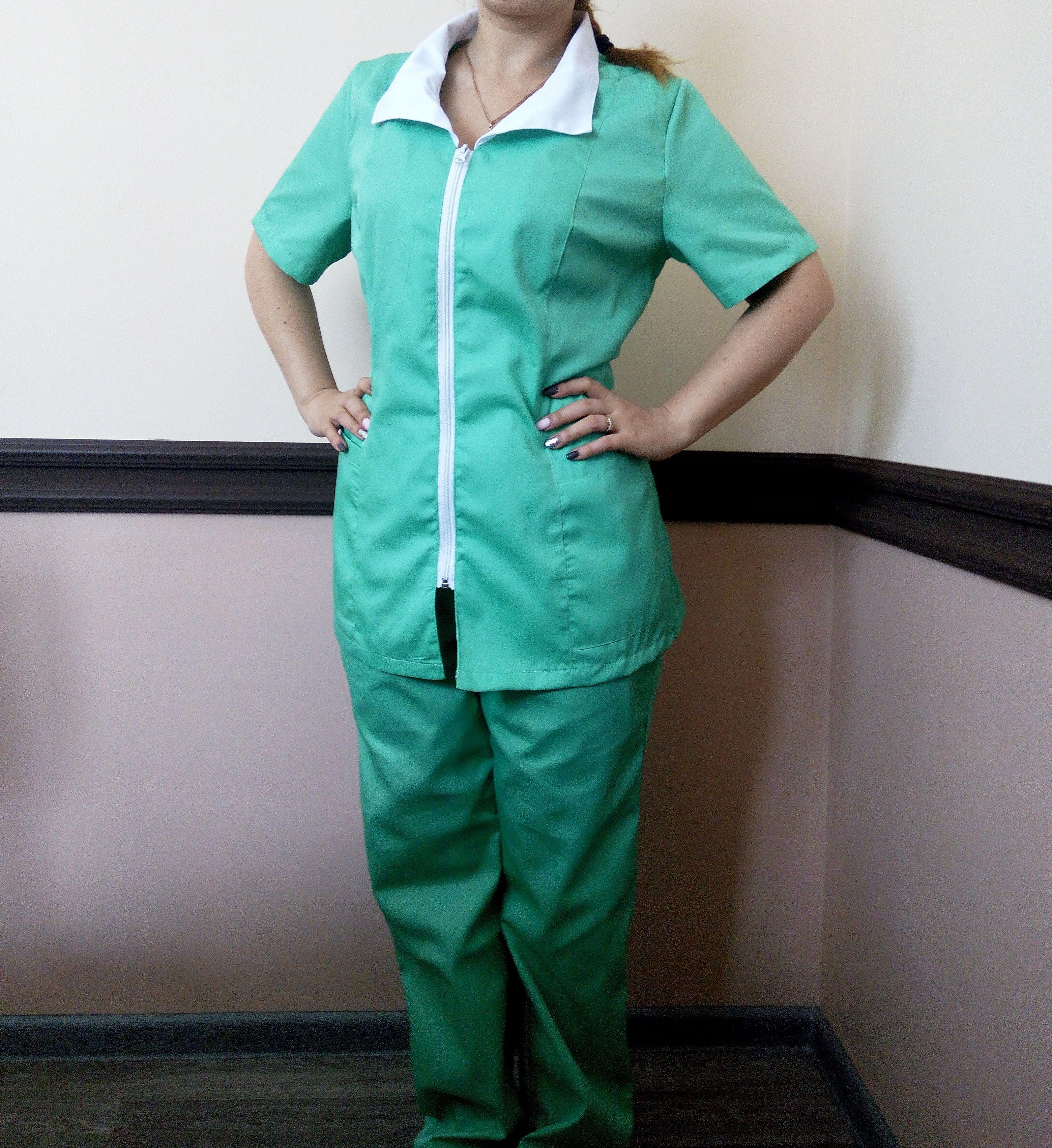 Форма для горничной, одежда для медперсонала, костюм для горничной,
