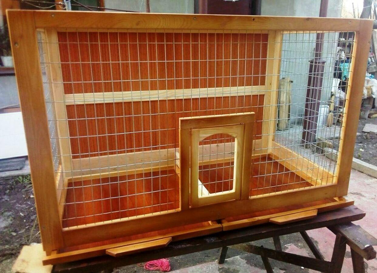 Клетка для ожереловых попугаев (разборная).