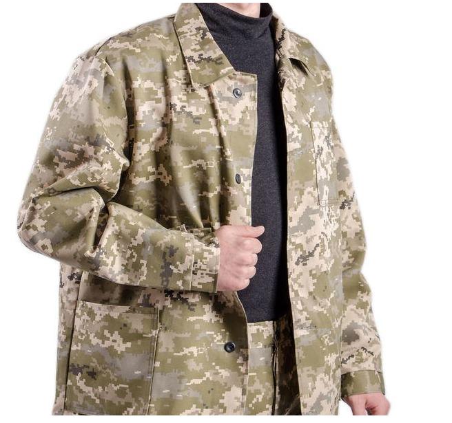Комплект рабочий куртка,брюки камуфляж Пиксель