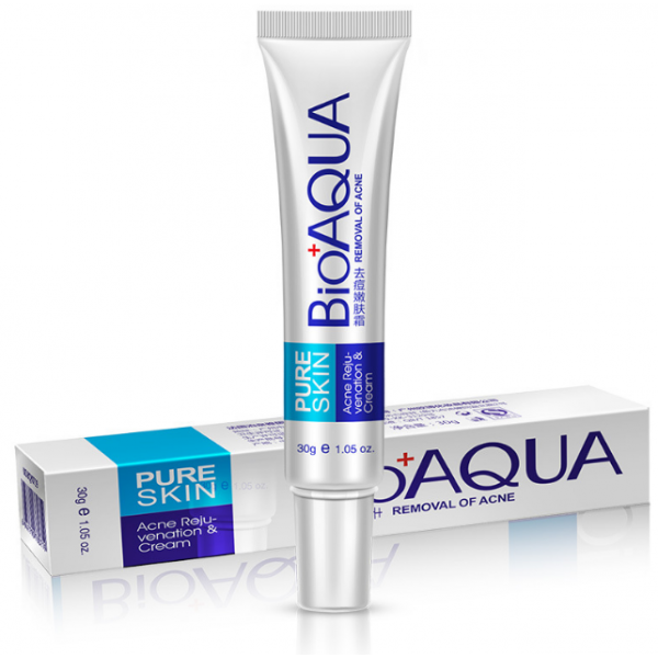 Концентрированный антибактериальный крем bioaqua  от акне 30 г