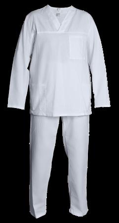 Костюм пекаря, повара, медицинский, куртка и брюки