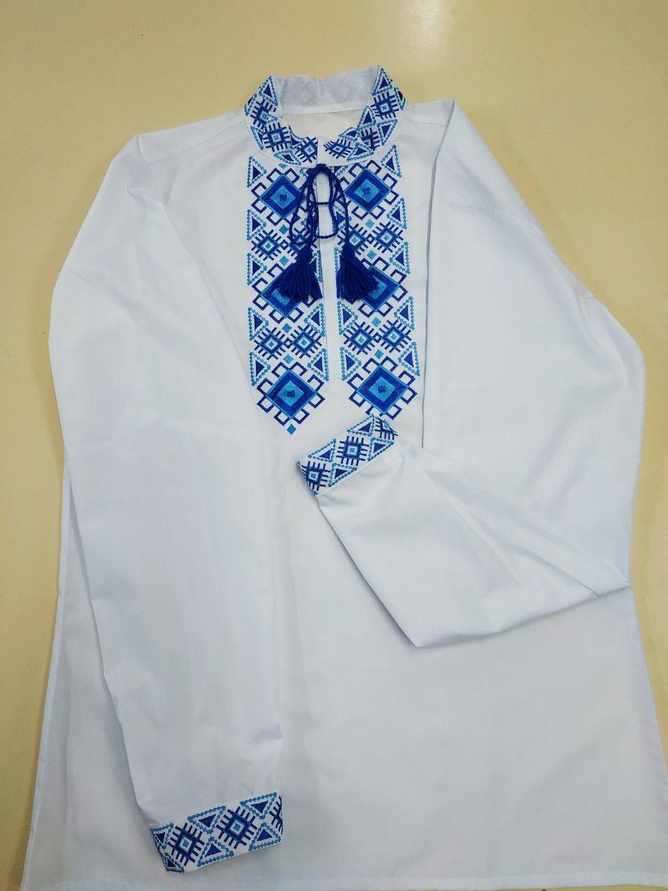 Мужская вышитая сорочка, сорочка украинская,рубашка